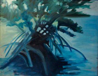 Mangrove dusk